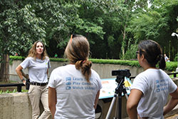 Kids.gov staff interviews a Zoo Keeper for its STEM Careers Spotlight series