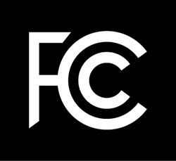 The Federal Communications Commission (FCC) logo