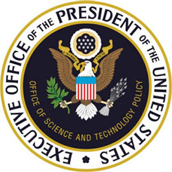 The official seal for the Executive Office of the President of the United States, Office of Science and Technology Policy