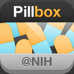 National Library of Medicine (NLM) Pillbox app icon
