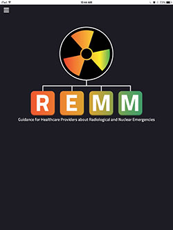 A screenshot of the REMM app on a mobile device