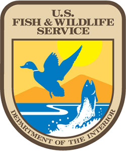 US Fish and Wildlife Service - Department of the Interior shield logo