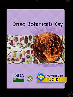 USDA Dried Botanicals app cover