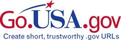 Go USA gov URL shortener logo