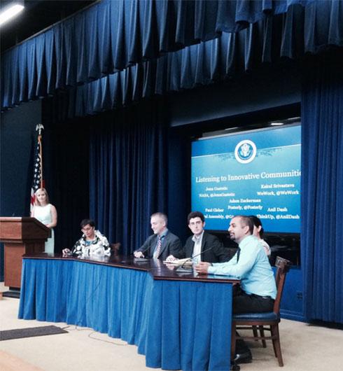 SocialGov Open Data White House EEOB Summit Listening to Innovative Communities panel, Aug 7th 2014