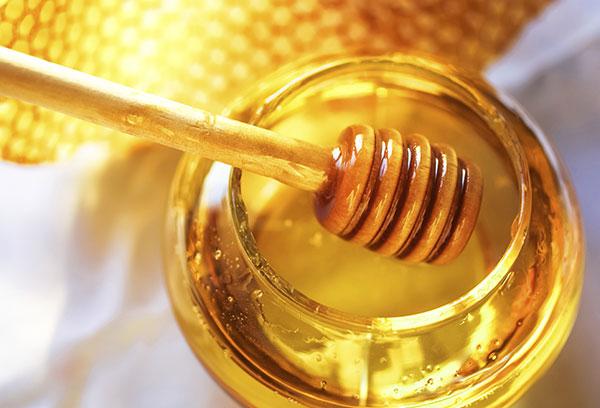 Honey dipper and pot