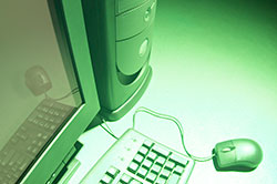 Green desktop computer