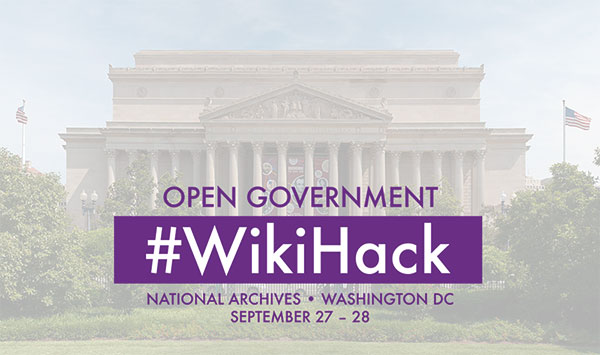 Open Government #WikiHack 2014 promo