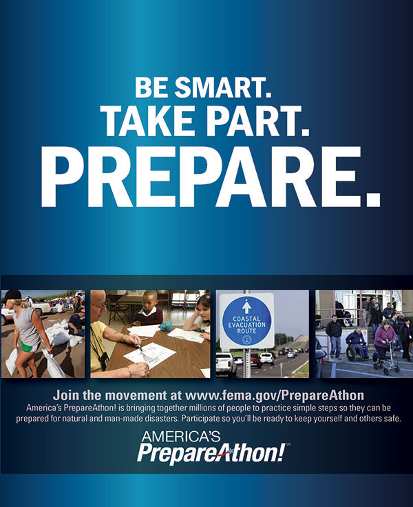 FEMA Ad For National Preparedness Month PrepareAthon Day September 30 2014
