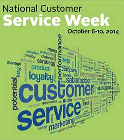 National Customer Service Week 2014