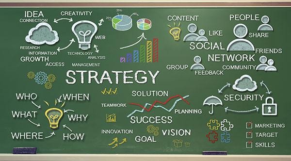 600 x 332 Strategy concepts on chalk board Melpomenem iStock Thinkstock 466815611