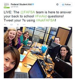250 x 267 Twitter photo AskFAFSA team