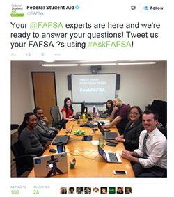 250 x 283 Twitter photo AskFAFSA experts