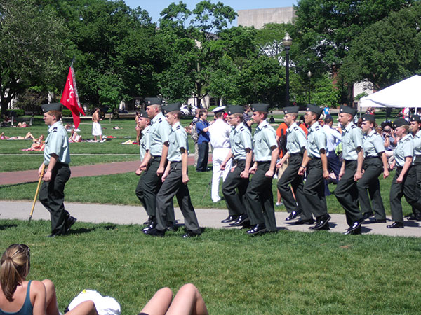 Army ROTC at Ohio State University, May 21, 2009