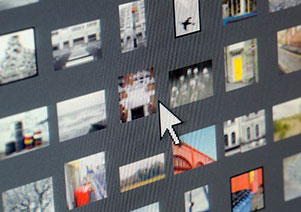 Screencapture of Getty thumbnails.