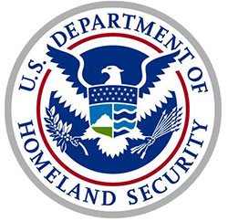 DHS Customs and Border Patrol CBP seal from Twitter
