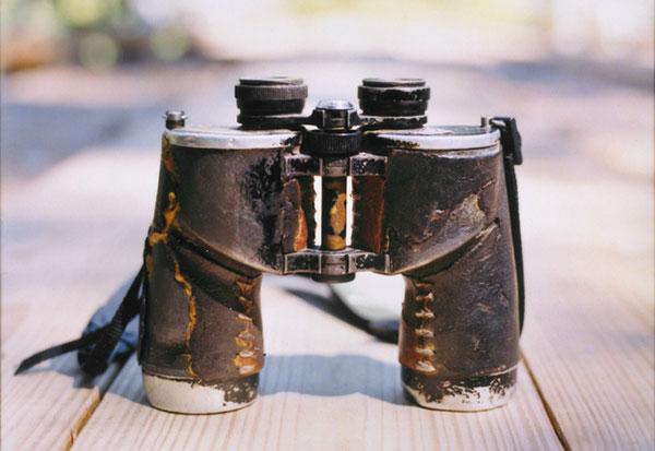 Citizen Science pioneer Chandler Robbins' 60 year old binoculars