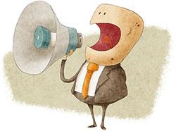 250-x-186-Businessman-shouting-into-megaphone-Jrcasas-iStock-Thinkstock-158772399