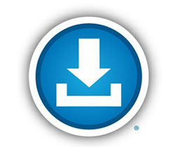 The Blue Button® logo.