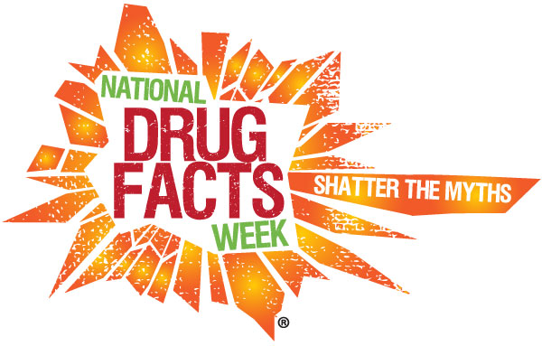 National Drug Facts Week (NDFW) logo for 2015.