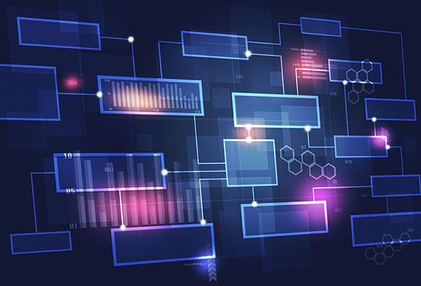 Technology Concept Business Chart