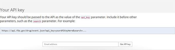 FDAgov-API-Key