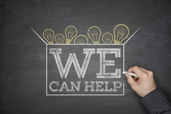 We can help on blackboard