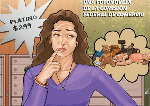 FTC fotonovela Fatima Says No to an Income Scam