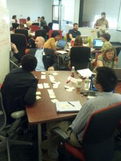 An agile governance sprint.
