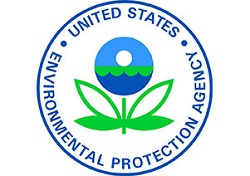 The Environmental Protection Agency, E P A, seal