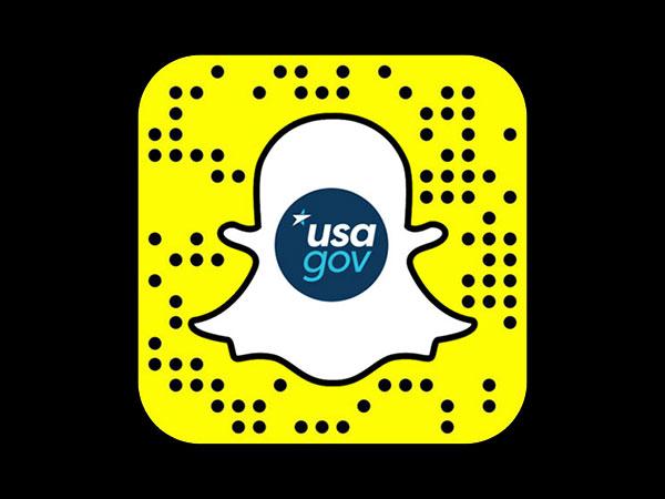 USA.gov's Snapchat logo
