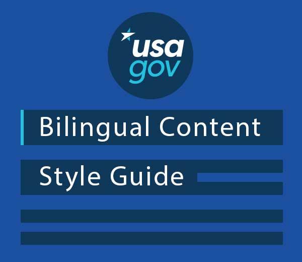 USA gov Bilingual Content Style Guide