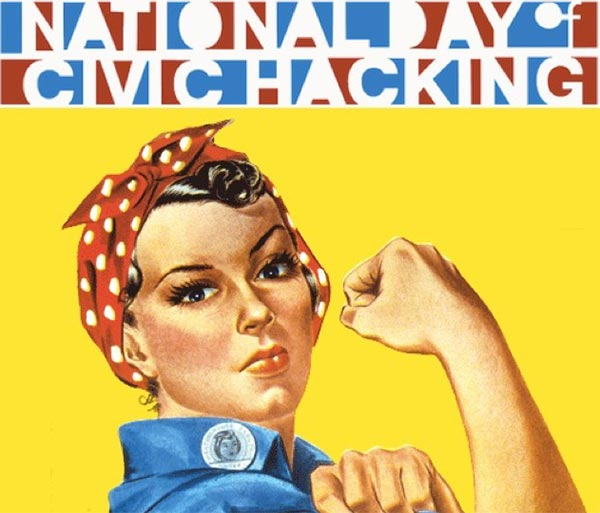 National Day of Civic Hacking logo