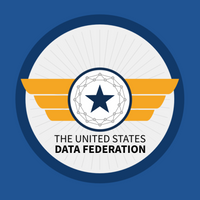 The United States Data Federation logo