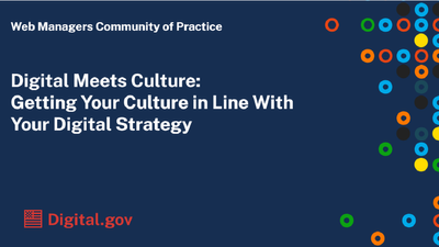 Digital Meets Culture: Getting Your Culture in Line With Your Digital Strategy