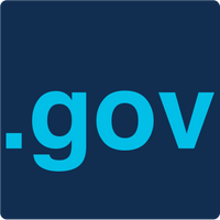 The new DotGov logo has the .gov top-level domain text in light blue on a dark blue background.