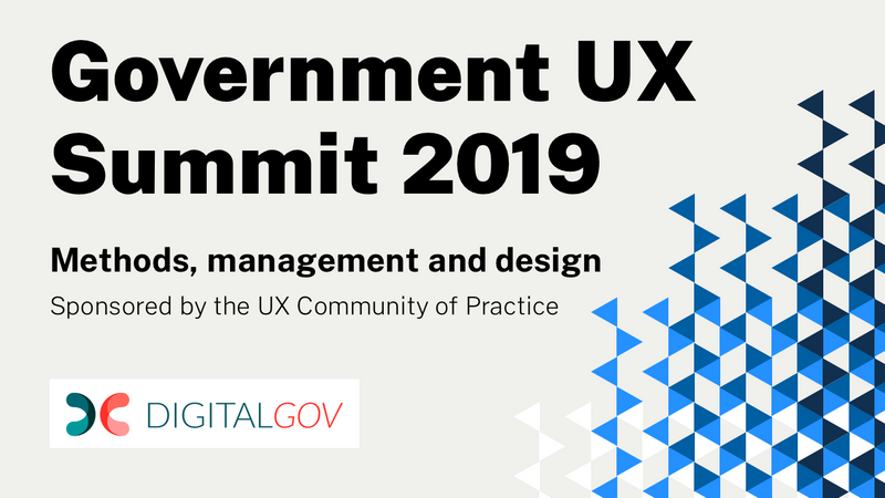 Government UX Summit 2019