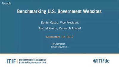 A Conversation With ITIF About the State of Federal Government Websites