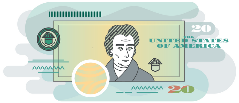 Illustration of the Money Adventure App by the U.S. Currency Education Program.