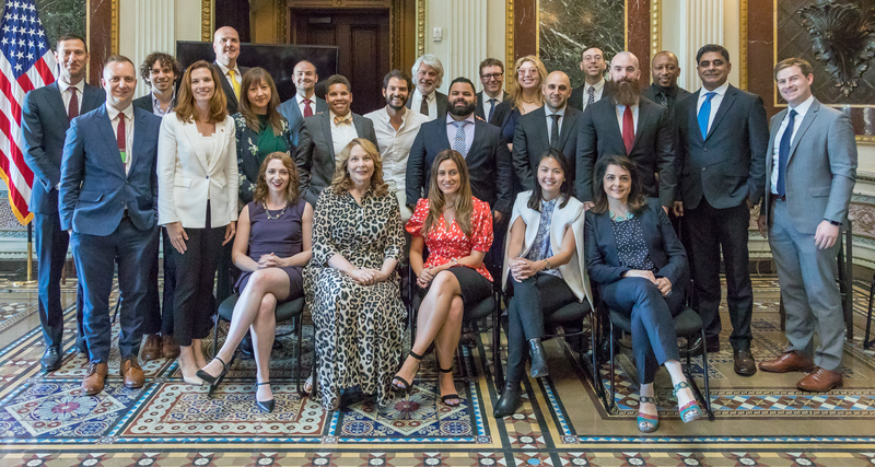 Presidential Innovation Fellows gathered at the Eisenhower Executive Office Building on July 12th as part of a PIF Homecoming event.