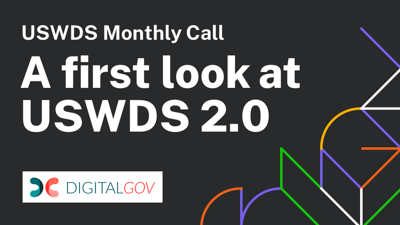 Image card for A First Look at USWDS 2.0