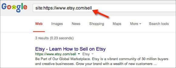 Checking Google Index