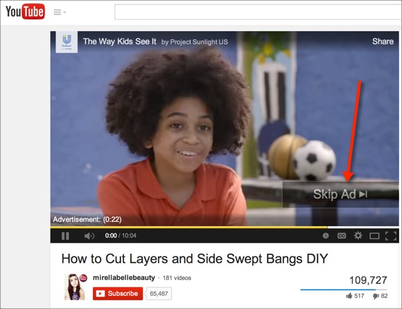 YouTube Native Advertising