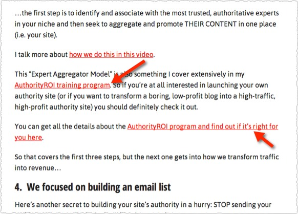 Native Ad Landing Pages to Video Sales Letter