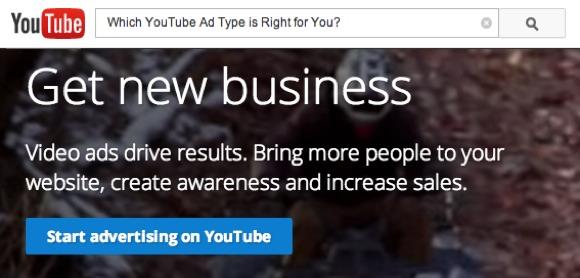 YouTube Ad Type