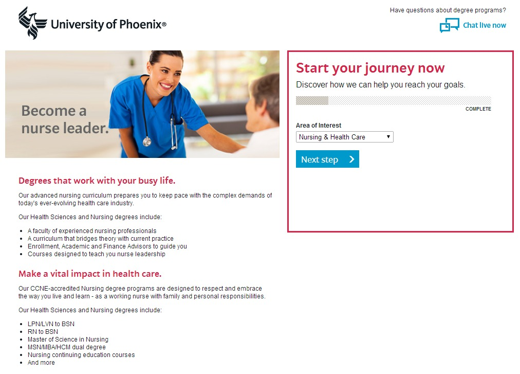 Phoenix Landing Page