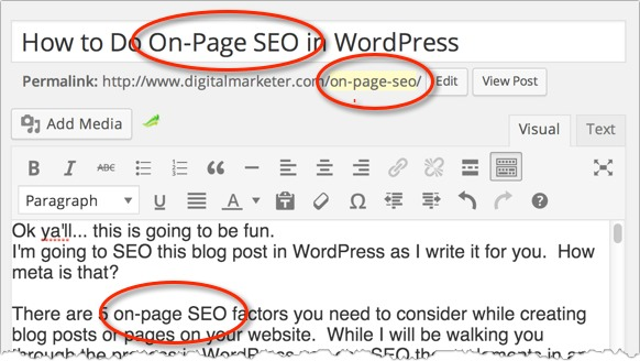 How to Do On-Page SEO in WordPress