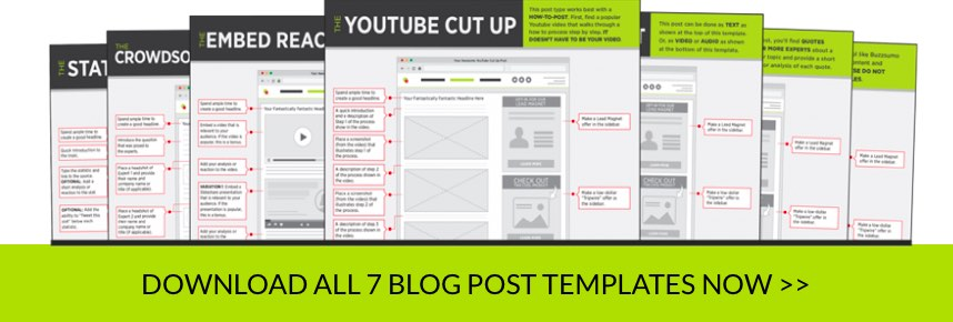 The content engine secret real estate playbook blog post templates that you can put to use as you create the different content types download print and stick them close by for a quick reference as maxwellsz