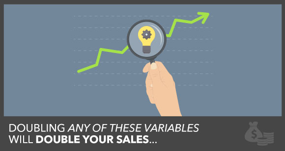 Want to Double Sales?  Pull One of These 4 Levers