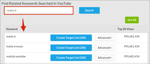 Creating YouTube Lists